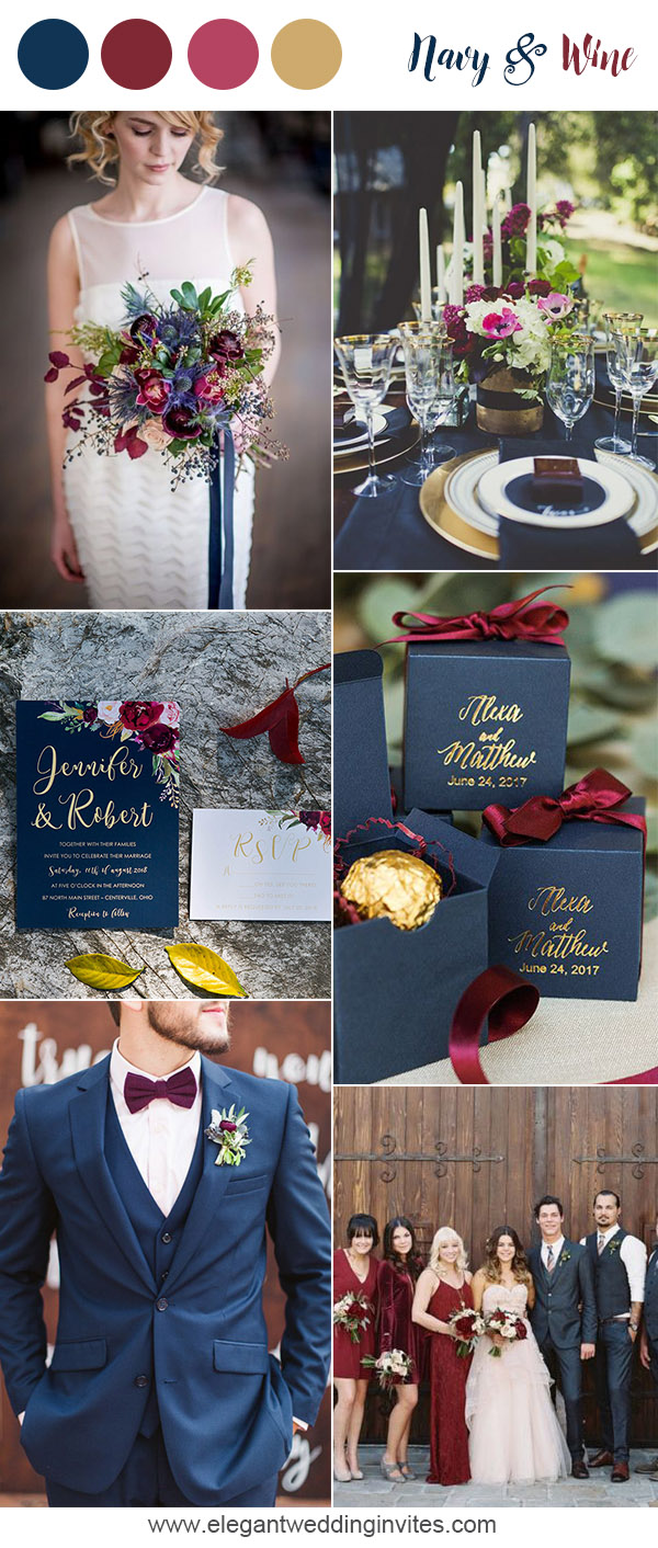 10 Prettiest Blue Wedding Color Combos For 2018