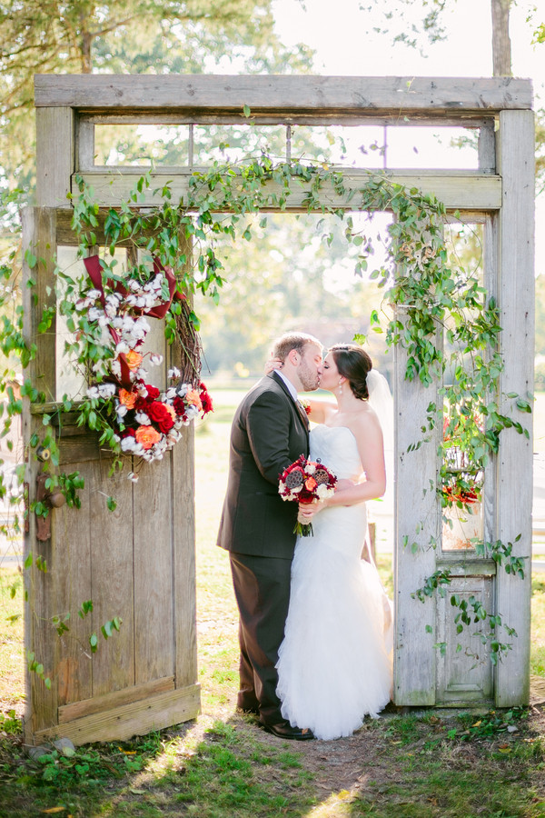 romantic wedding photo ideas for rustic country style