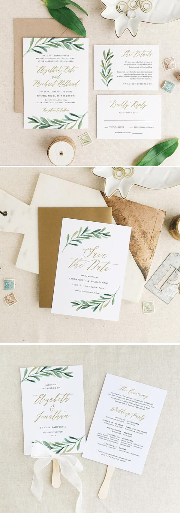 10 Hot Wedding Invitation Trends You Need to Know for 2018 ...
