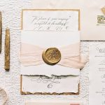 DIY Wedding Ideas: How to Enhance Your Invitations with Wax Seal & Ribbon