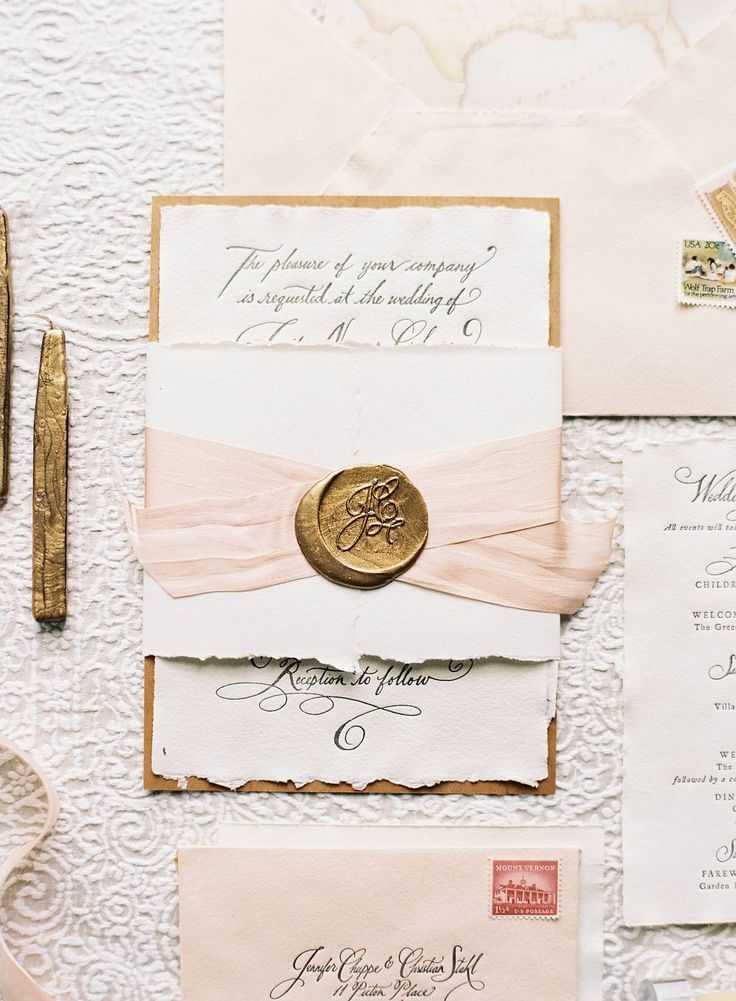 DIY Wedding Ideas How to Enhance Your Invitations with Wax Seal
