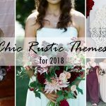7 Chic Rustic Wedding Themes with Matching Invitations