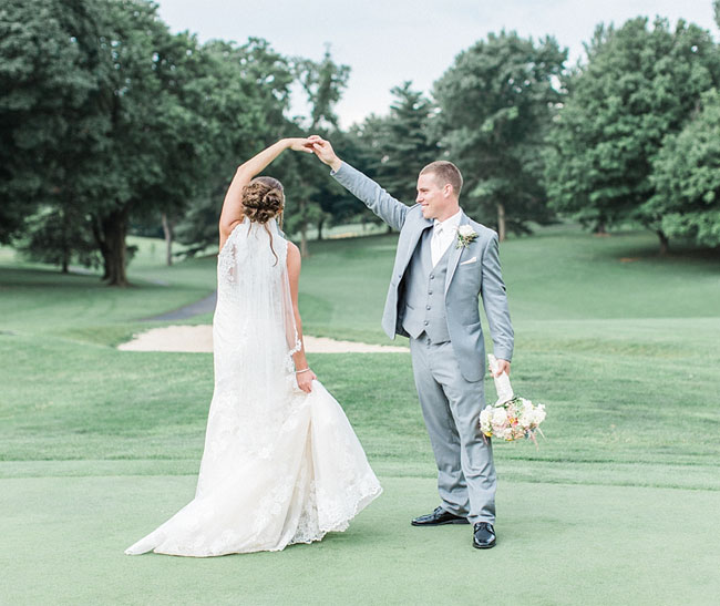 Brooke & Jake Blush and Gray Wedding at Fountain Head Country Club 15