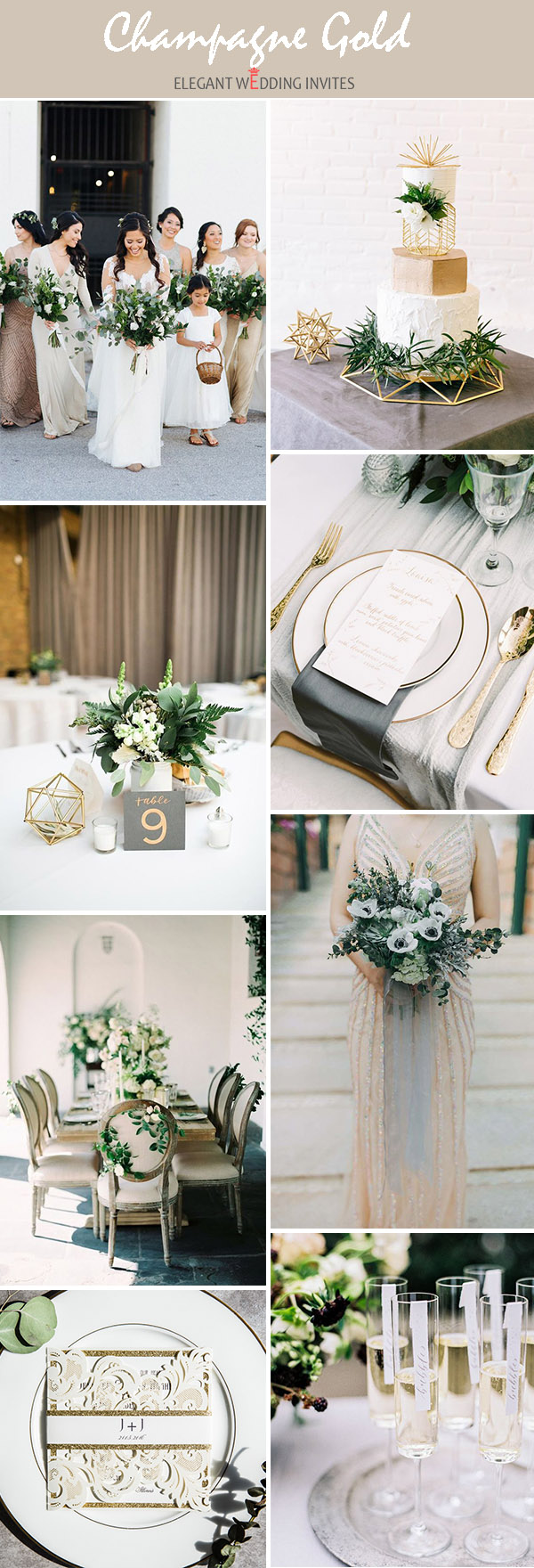 Wedding Trends 2018: 10 Gorgeous Wedding Colors with Lush Greenery ...