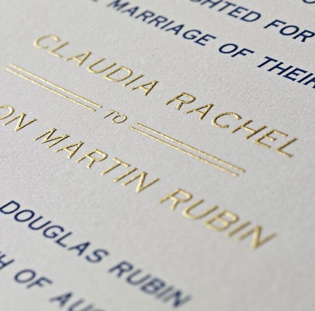 pros vs cons for popular wedding invitation printing options