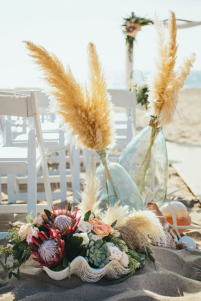 Free-Spirited Bohemian Wedding Ceremony Decoration Ideas