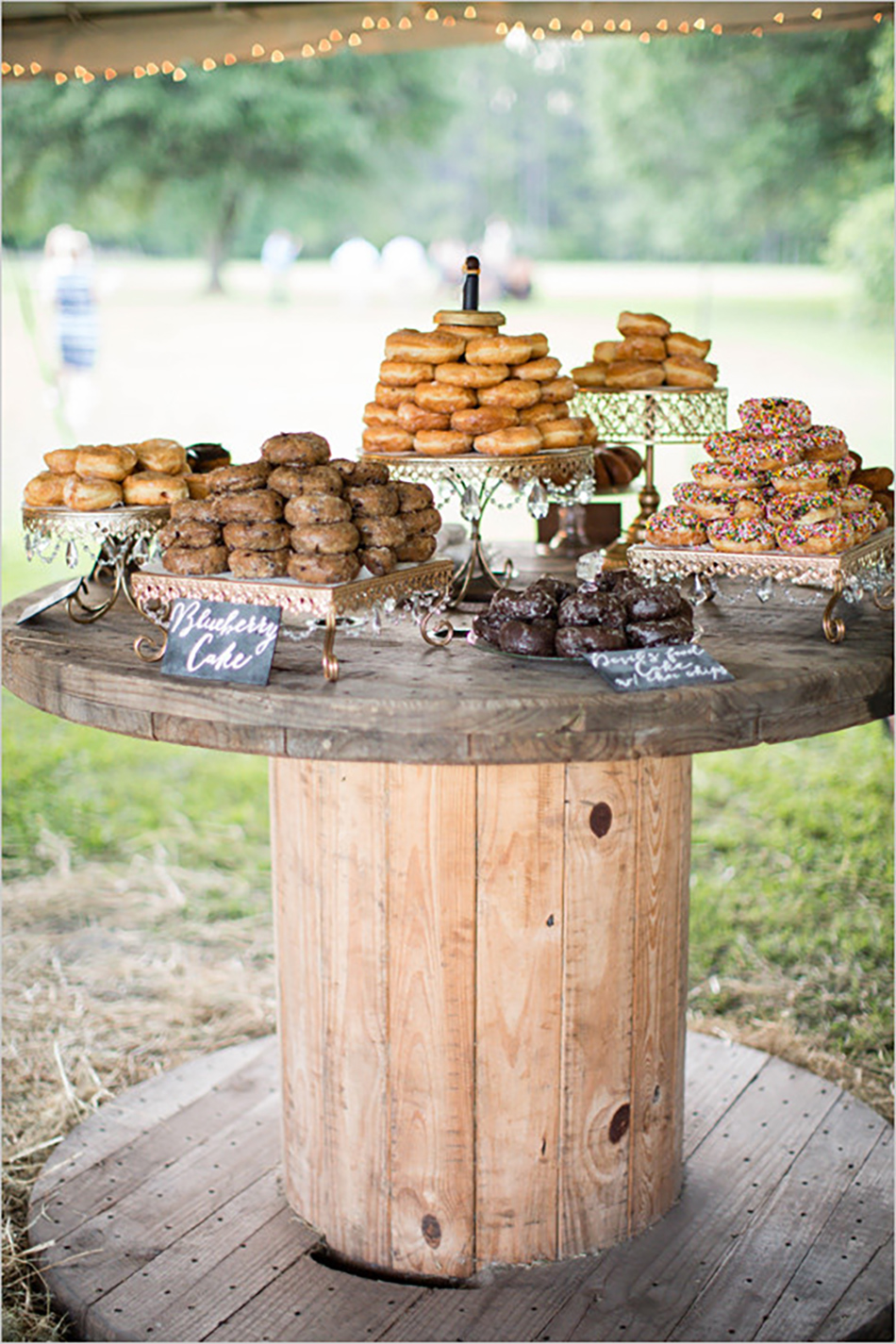 rustic wedding cake table ideas 26 inspiring chic wedding food amp dessert table display 19578