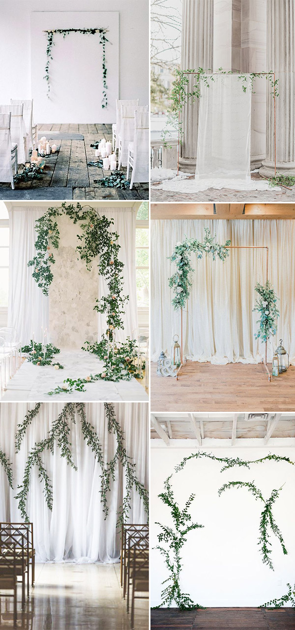 Simple & Chic Organic Minimalist Weddings Ideas for Non-Traditional Brides in 2018