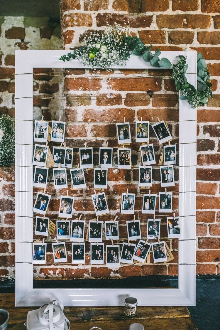 Photos Wall Decor Polariod Pegs Fram
