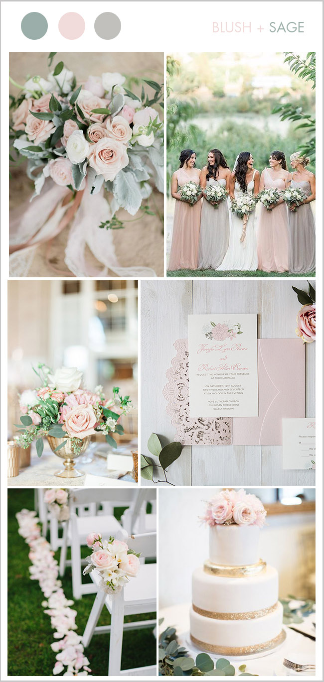 9 Beautiful Blush & Soft Pink Wedding Colors for Brides to Try ...