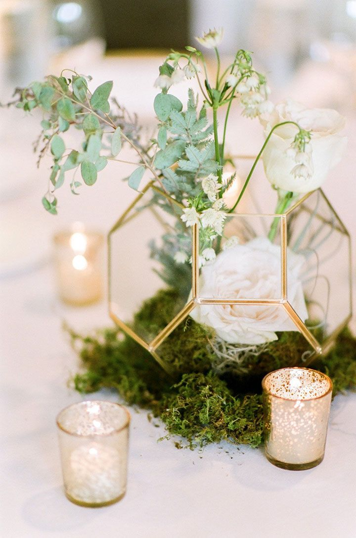 Metallic Rustic Decor