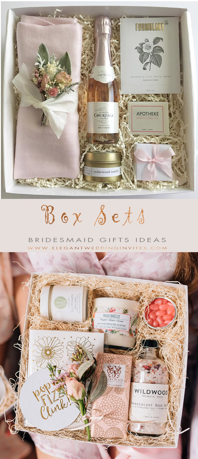 Wille You be My Bridesmaid Gift Box Sets