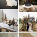 Trending-10 Gorgeous Wedding Colors for Fine Art Brides