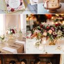 8 Stunning Fall & Winter Wedding Color Combos with Burgundy & Blush