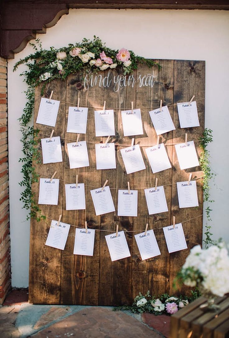 Creative find your seat wedding sign board ideas