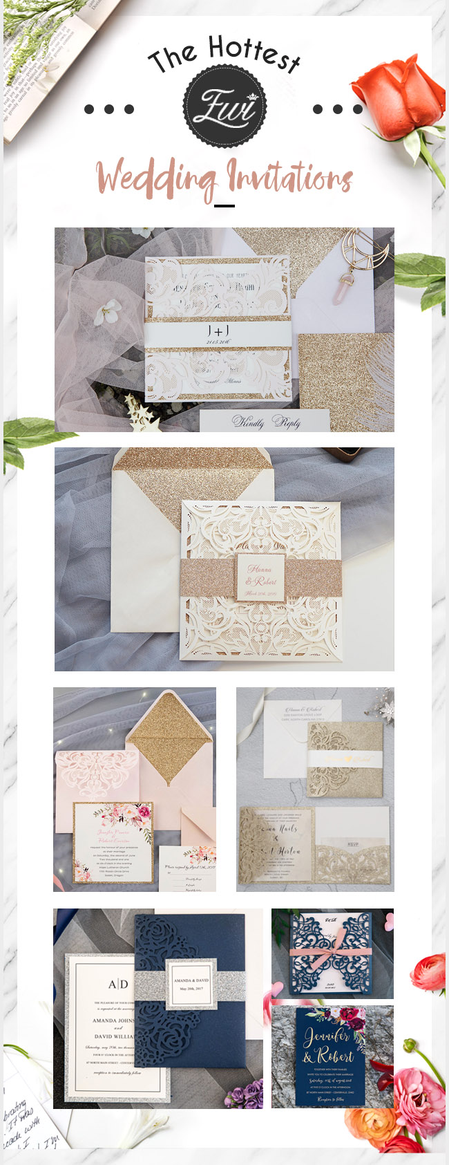 Elegant Wedding Invites wedding invitation HotSale collection