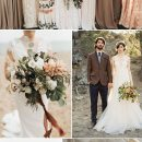 10 Stunning Wedding Colors for a Fall Wedding