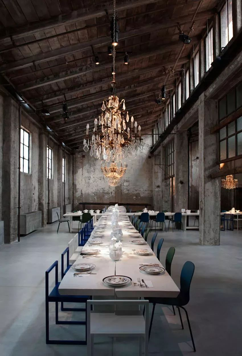 loft-style industrial chic wedding reception ideas