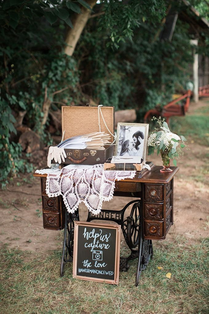 Creative Vintage Wedding Decoration Ideas