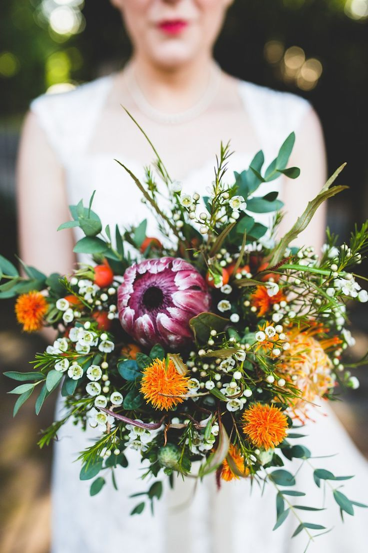 amazing autumn wedding bouquets ideas