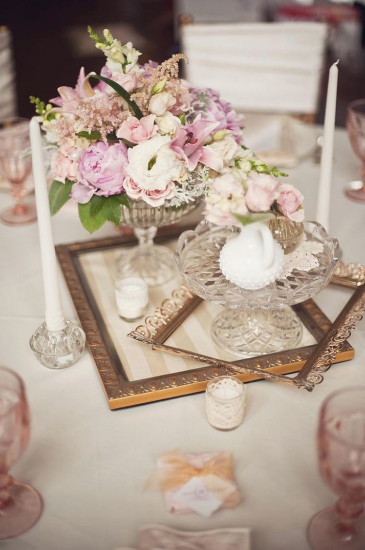 best vintage wedding centerpieces ideas