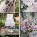 Trending-7 Pretty Mauve Wedding Color Combos for Fall & Winter