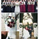 7 Pretty Winter Wedding Color Ideas with Christmas Festive Spirits