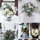 20 Chic Wedding Bouquets Ideas for Winter Brides