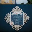 {Real Wedding} Andrea and Aaron: French Country Harborside Blue & Blush Wedding