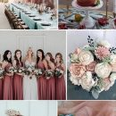 Trending: 7 Gorgeous Dusty Rose Wedding Colors for brides to Try in 2019