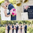 {REAL WEDDING}Ali & Austin: Sweet Pink and Navy Wedding in Leawood