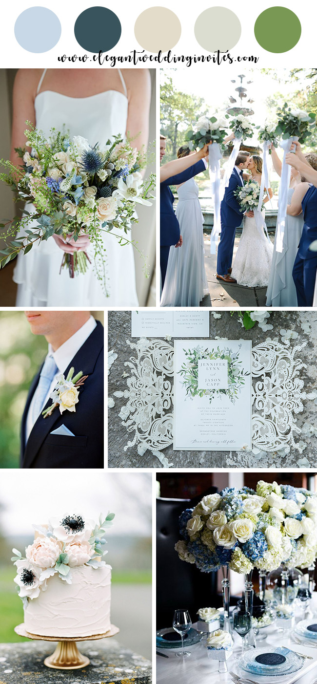 Wedding Colors For Summer.10 Beautiful Spring And Summer Wedding Colors For 2019