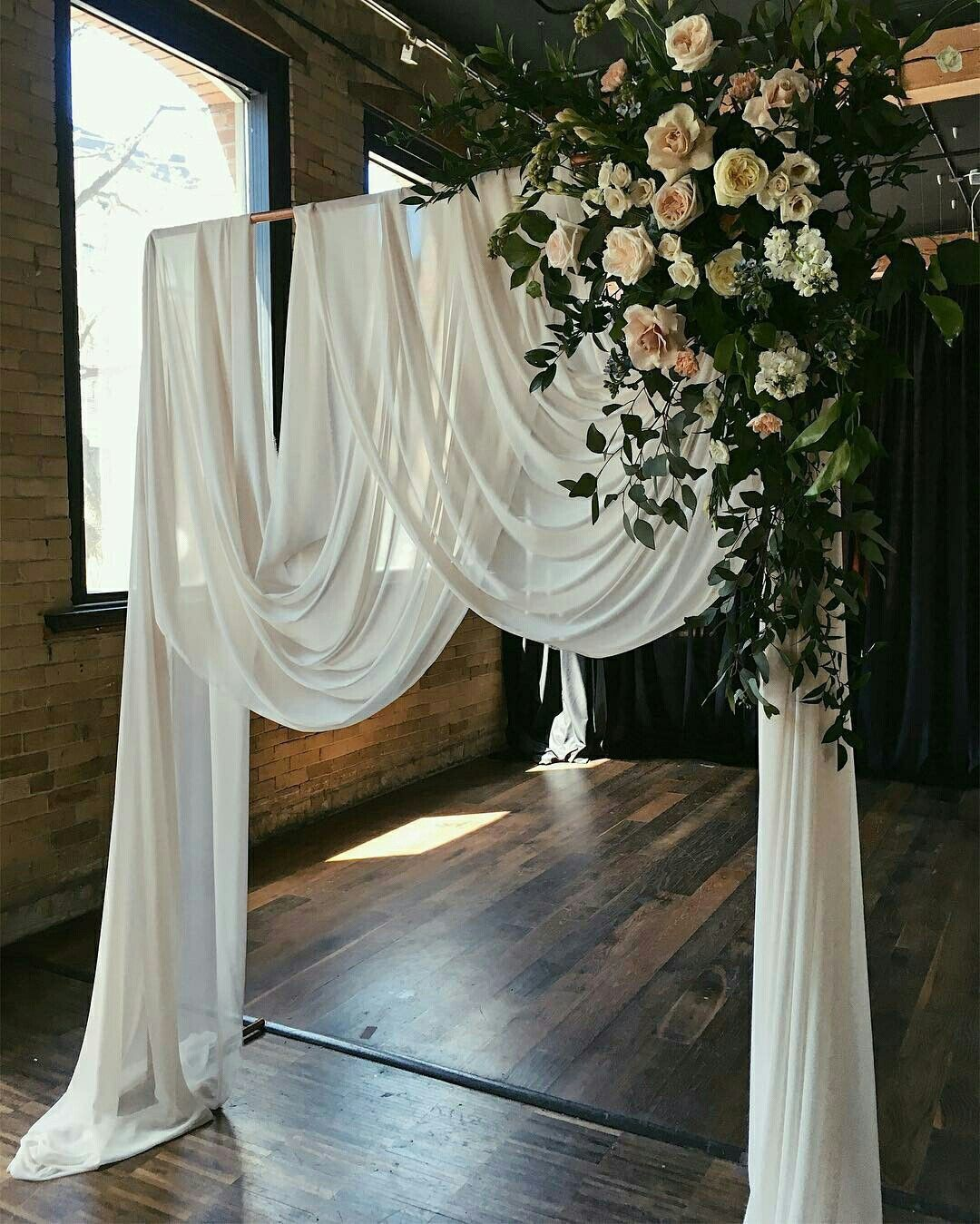 25 Chic And Easy Rustic Wedding Arch Ideas For Diy Brides: 25 Inspirational Wedding Ceremony Arbor & Arch Ideas