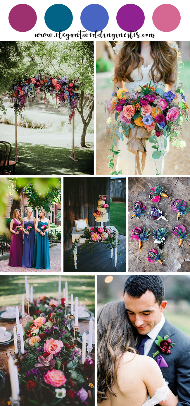 ca67667412d 10 Beautiful Spring and Summer Wedding Colors for 2019 ...
