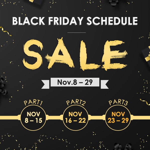 EWI BLACK FRIDAY SHCHEDULE