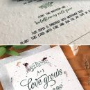 The Hottest 10 Wedding Invitations Trends for 2020&2021