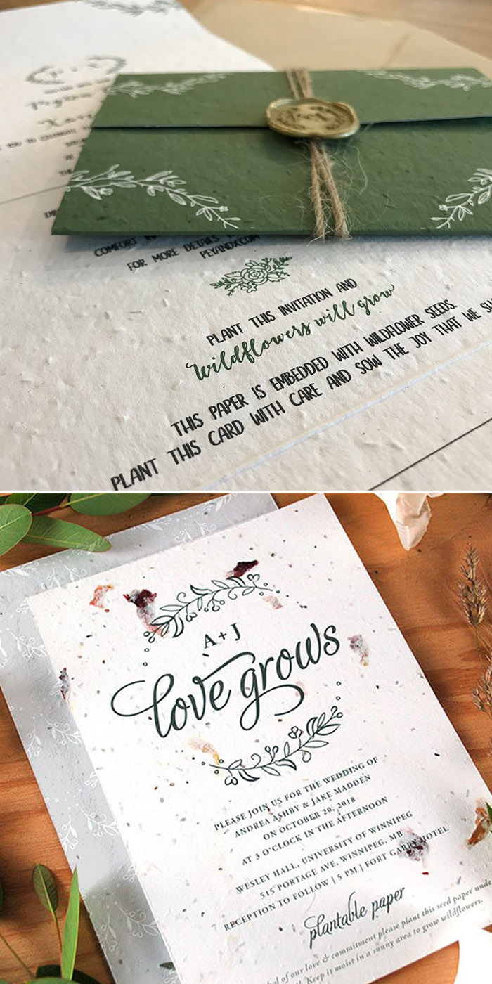 The Hottest 5 Wedding Invitations Trends for 5&5