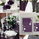 10 Pretty Shades of Purple Wedding Color Combos