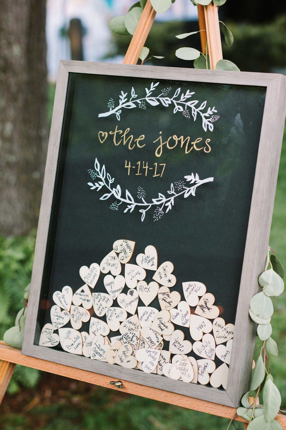 unique blackboard wedding guest book ideas for all couples