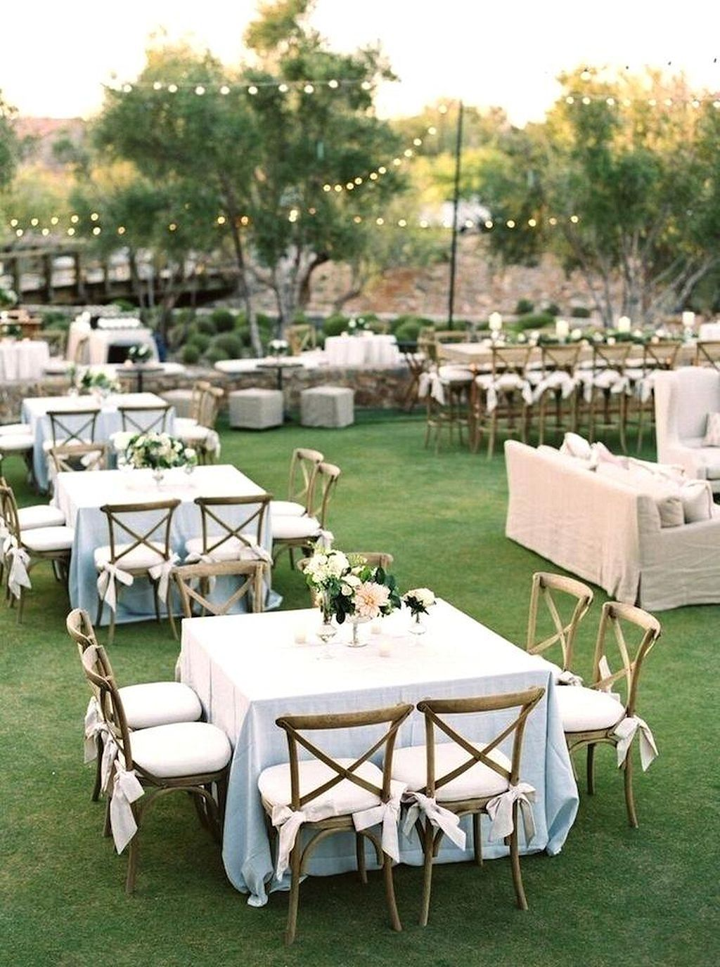 awesome wedding reception ideas for garden wedding