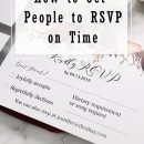 Best Tips to Get Wedding Guests to RSVP on Time