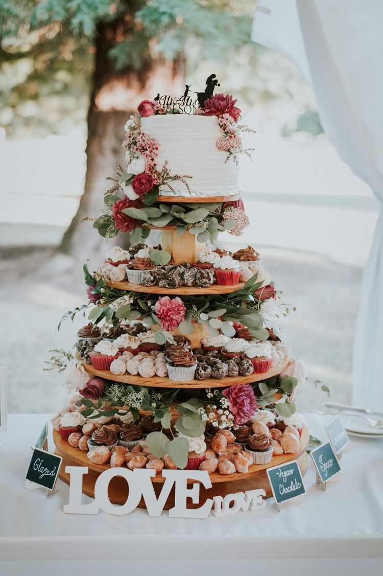 unique wedding dessert and cake table ideas