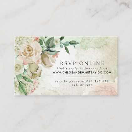 wedding RSVP options for guests
