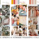 6 Spring & Summer Wedding Color Ideas Brides can Try in 2021