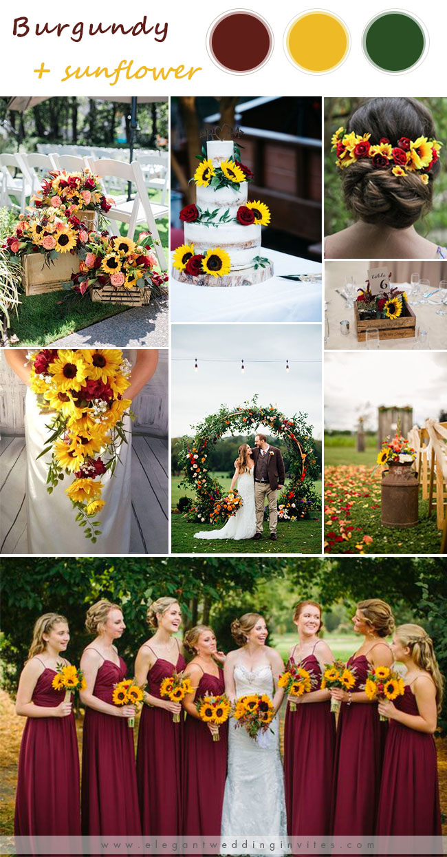 8 Gorgeous Burgundy Wedding Season Color Ideas For 2020 Brides Elegantweddinginvites Com Blog