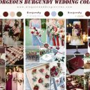 8 Gorgeous Burgundy Wedding Season Color Ideas for 2020 Brides