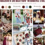 8 Gorgeous Burgundy Wedding Season Color Ideas for 2021 Brides