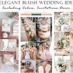 9 Inspirational Elegant Blush Garden Wedding Ideas You Will Love