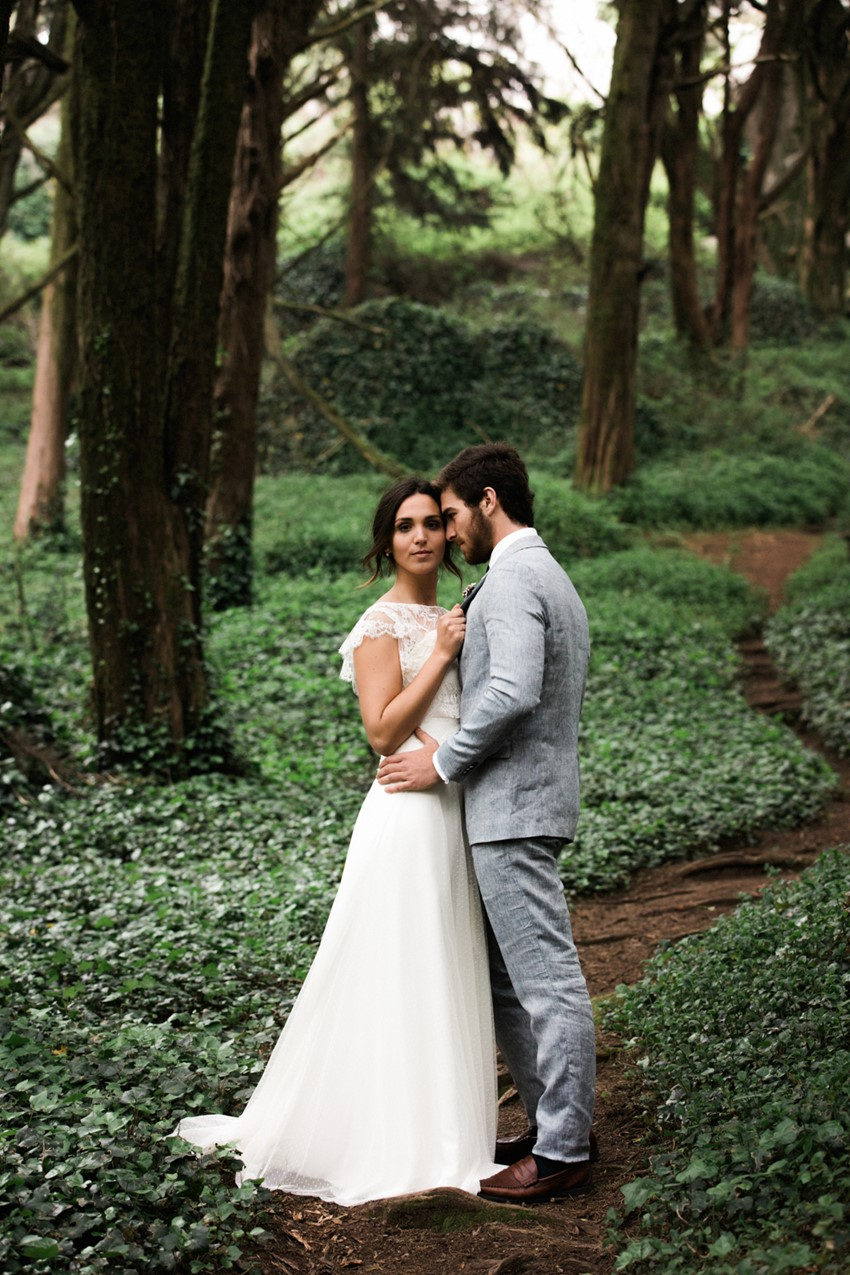 enchanting woodland elopement wedding ideas