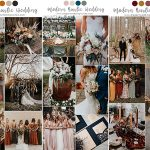 7 Pretty Chic Modern Rustic Wedding Colors and Ideas